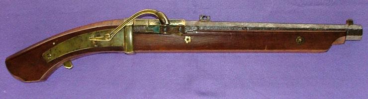 火縄銃(馬上用短筒)写真