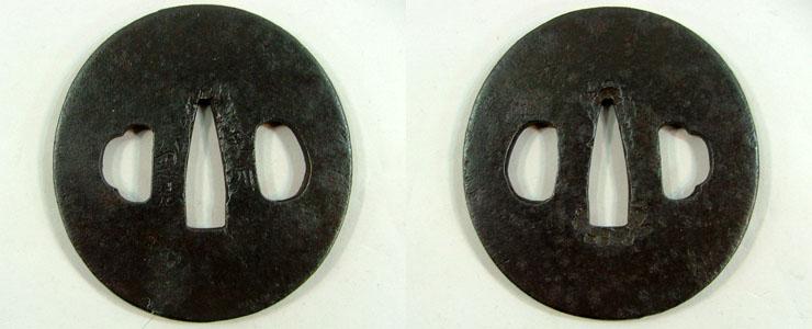素紋鍔 越前兼法刃