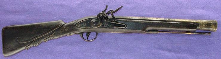 火打ち式銃(フリントロック)写真