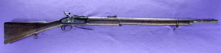 後装内火式銃  スナイダー銃(イギリス)写真