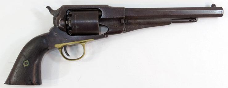 レミントン M1858 ニューモデルアーミー(Remington M1858 NEW-MODEL Army)六連発リボルバー 管打銃写真