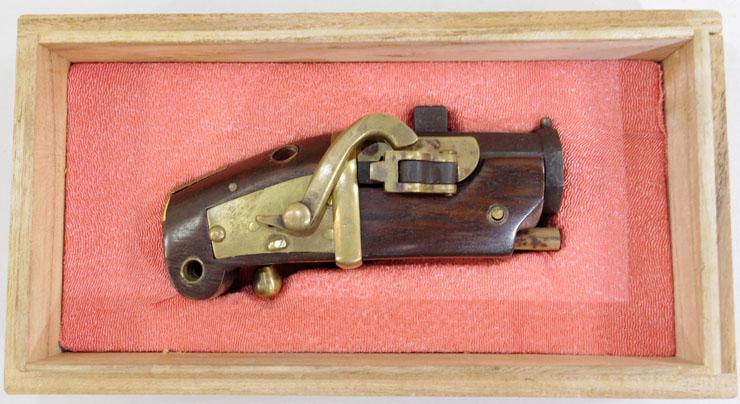 ミニチュア火縄銃刃