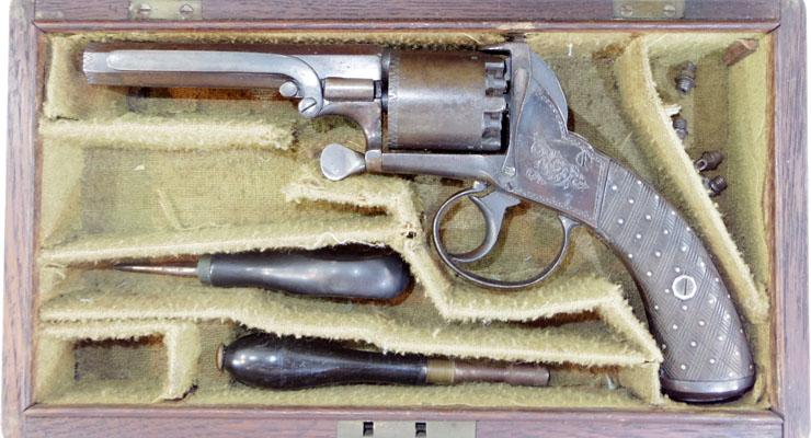 ADAMS REVOLVER (アダムズ6連発リボルバー) 管打銃写真