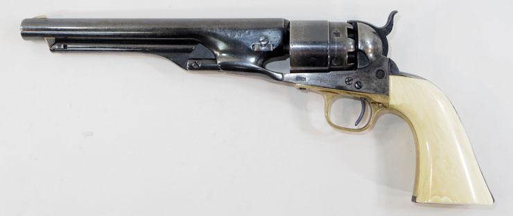 コルトM1860アーミーリボルバー (Colt M1860 Army Revolver)6連発リボルバー管打銃写真