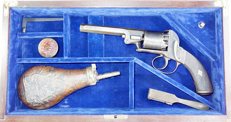 フレッチャー ベントレータイプ(5連発リボルバー)管打銃写真