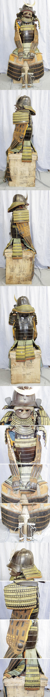 時代甲冑(山形藩 藩主水野家の伝来)各部分画像1