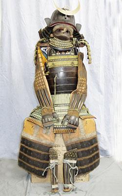 時代甲冑(山形藩 藩主水野家の伝来)写真