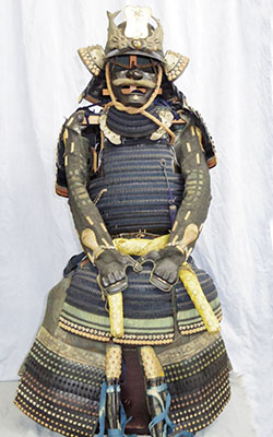時代甲冑(州浜紋)刃