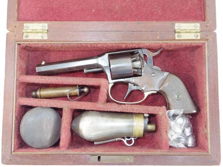 レミントン ライダー ポケットリボルバー (5連発リボルバー管打銃)  (オリジナルガンケース入り)写真