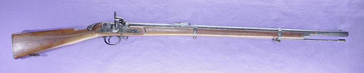 後装式管打銃  ウイルソン ライフル銃(イギリス)(海老尻銃)写真