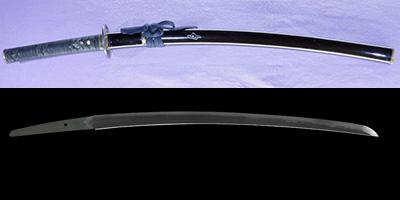 wakizashi [musashitarou yasukuni] (sintou jou-saku)   [sin 15 mai koubuse saku]thumb